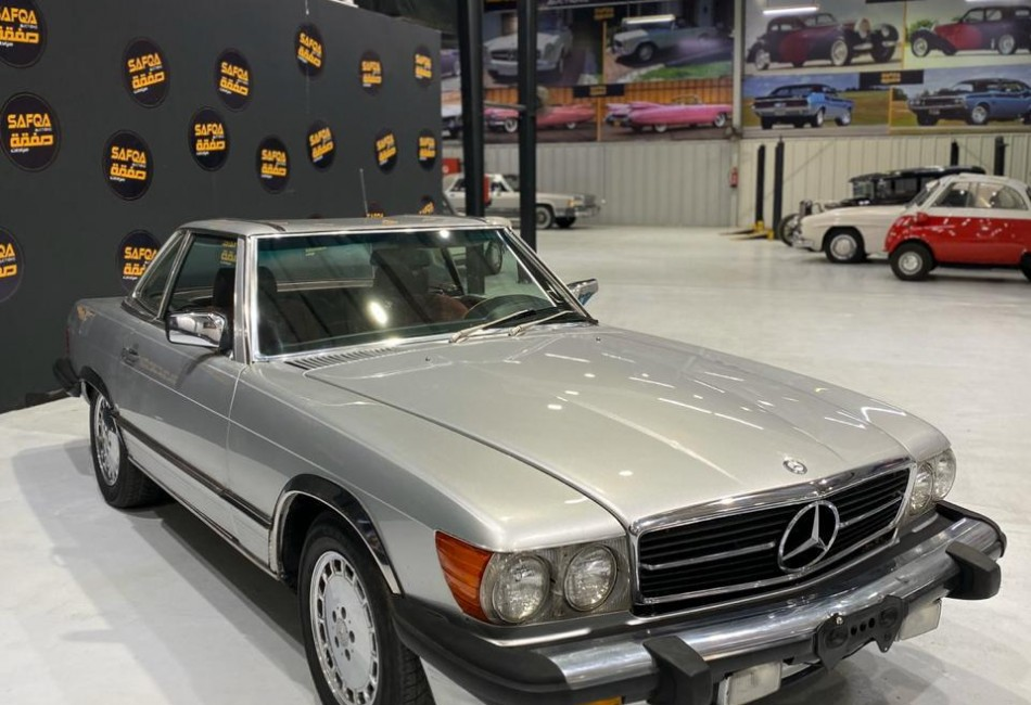 مرسيدسSL 560-1986